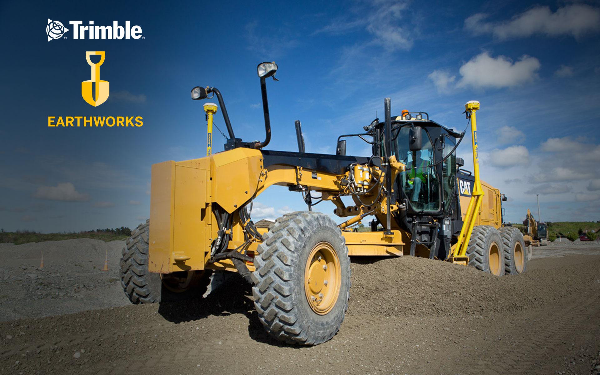 EarthWorks motoniveladora 2