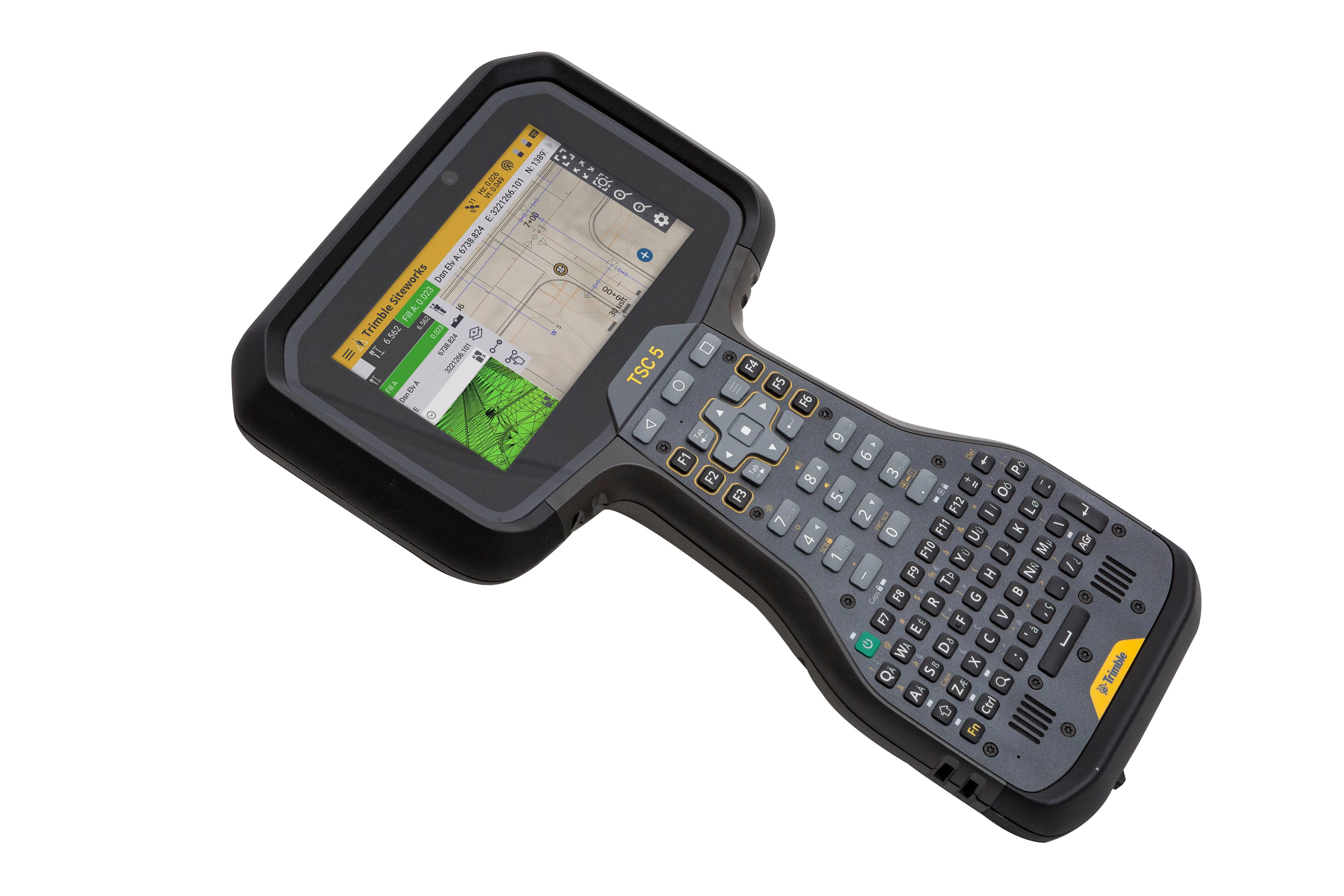 Novo controlador Trimble TSC5